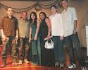 Família na festa da Camila
