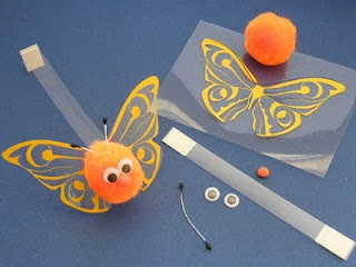 butterfly themed crafts for adults kids. Black Bedroom Furniture Sets. Home Design Ideas