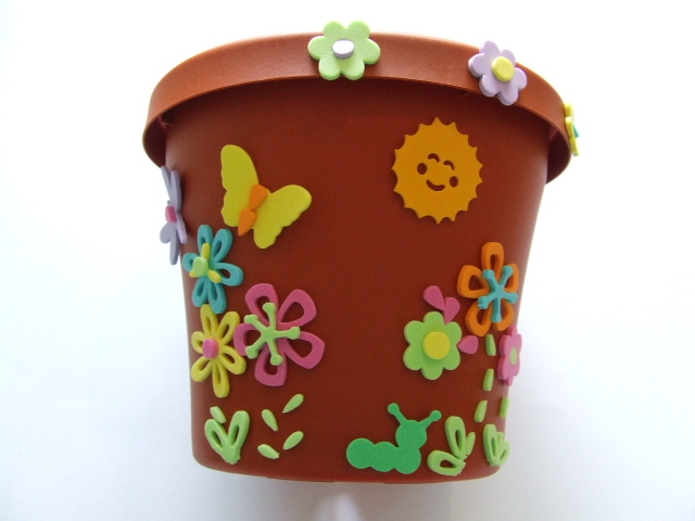 Decorating Flower Pots For Kids