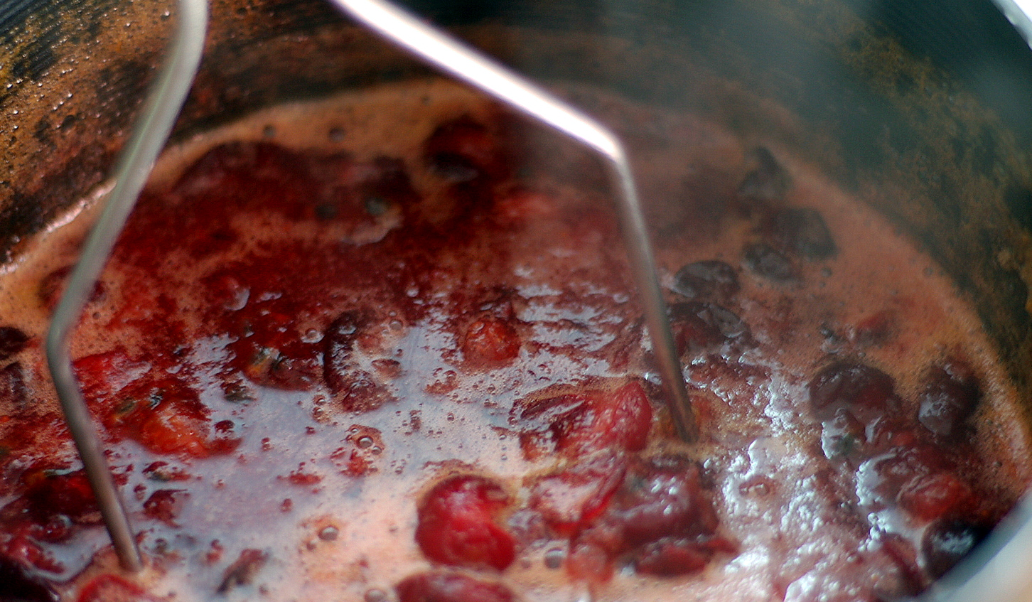 The Grains of Paradise: Hawaiian Cranberry-Passion Fruit Sauce