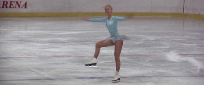 Figure skating split jumps