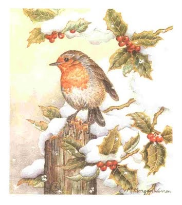 Celtic Lady THE LEGEND OF THE CHRISTMAS ROBIN