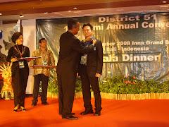 DTM Award to Charter President