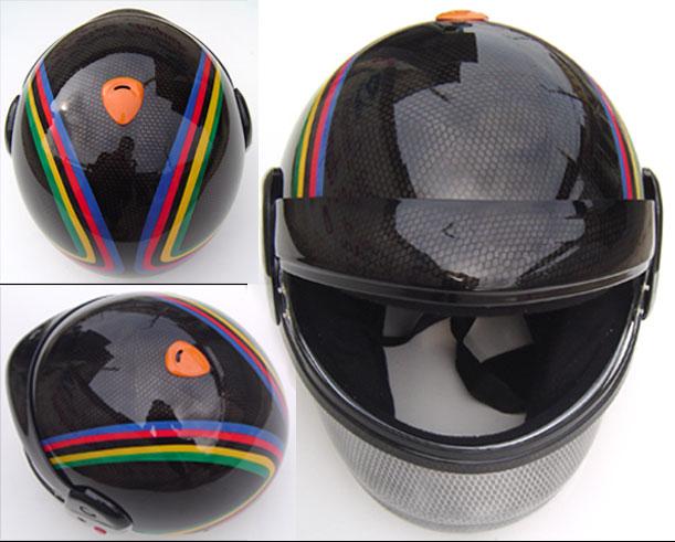 capacete kart detalhes
