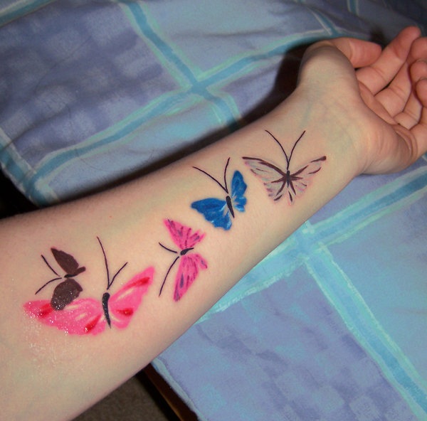 kelebek dovmesi