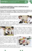 Cursos de Cocina Asiática en Hotel Escuela CIO Mihjas