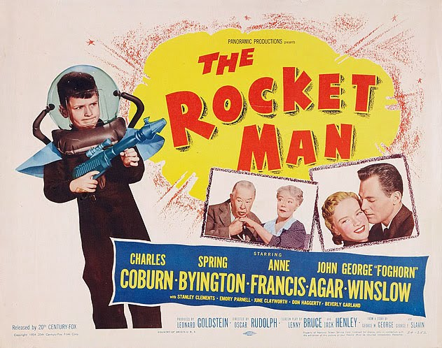 The Spaceman S Toychest The Rocket Man 1954