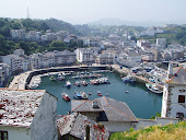 Foto puerto de Luarca