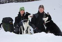 Mattias Larsson & Anna Björklund skidar den svenska fjällkedjan