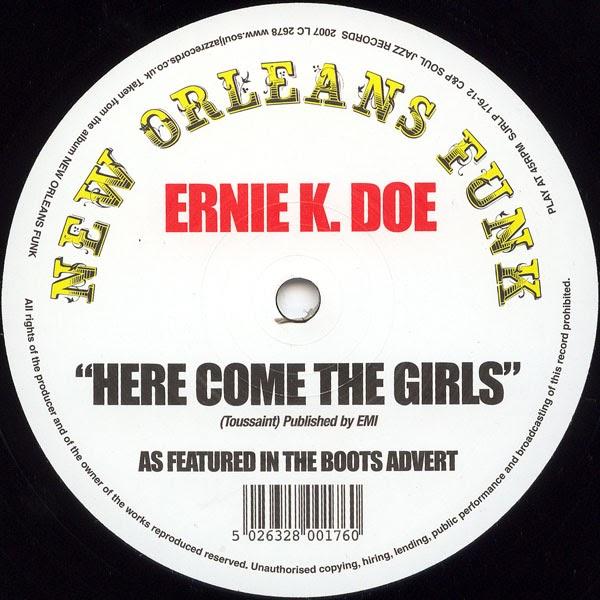 Ernie K Doe Come On Home