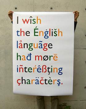 English Characters