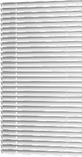 venetian blinds in perspective