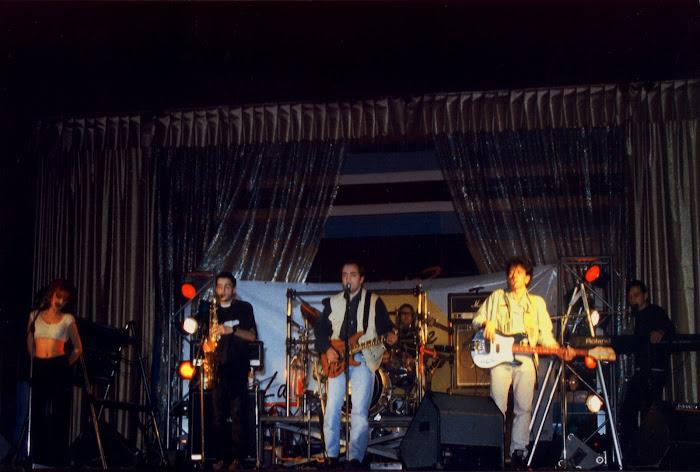 """La Escalera de Jacob. Discoteca Studio 3, Lugo. Presentación del C.D. """"Altas Horas"""" (20/12/96):"""