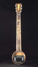 "Guitarra eléctrica hawaiana de 1931 apodada: ""The frying pan"":"