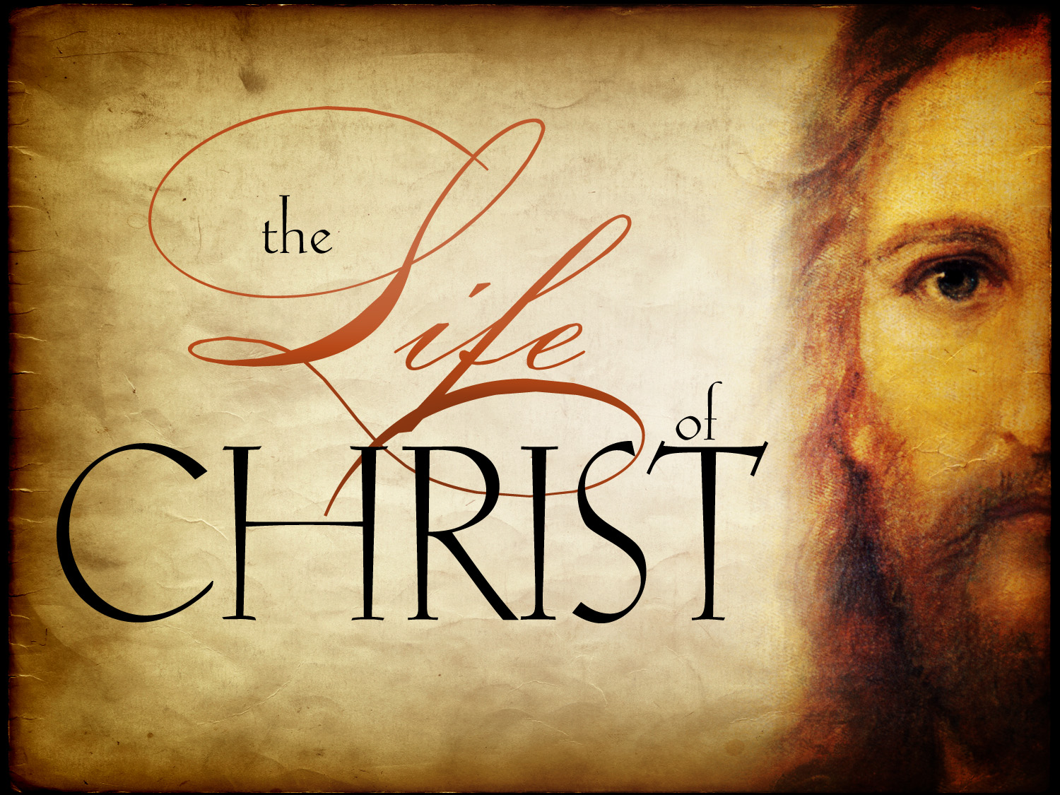 life of jesus Jesus christ was hailed by the people of judea as the messiah and savior jesus is a religious leader whose life and teachings are recorded in the bible's new.