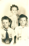 Sara with her brothers Donald and Norman