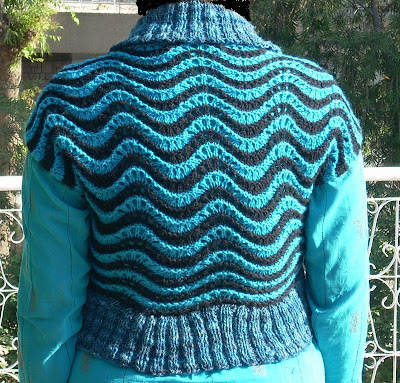 Plymouth Patterns - 2121 Circle Shrug Pattern - Large Photo at