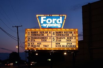 Das Ford-Wyoming Drive-in in Dearborn, Michigan © Franz Gingl