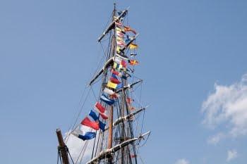 "Mast der ""HMS Bounty"" © Cornelia Schaible"