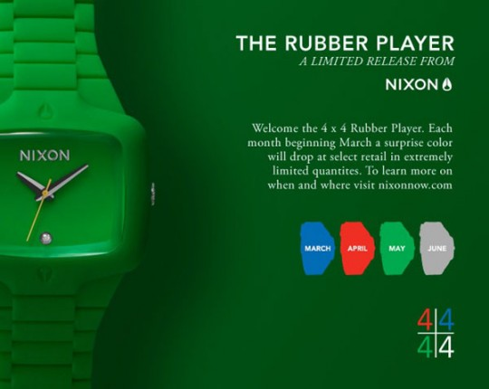 PLuSH Paparazzi Embassy Nixon Rubber Player Watches