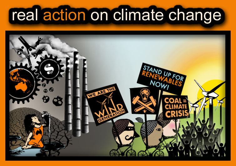 real action on climate change