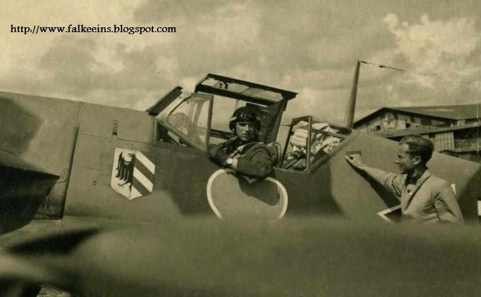 Hans Philipp JG 54 Bf 109 F-4 & FalkeEins - the Luftwaffe blog: Hans Philipp JG 54 Bf 109 F-4
