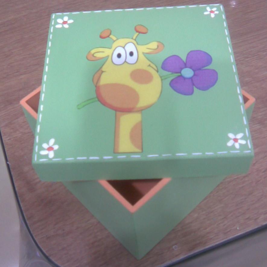 Pinceladitas cajas decoradas 12x12x12 - Cajas de carton pequenas decoradas ...