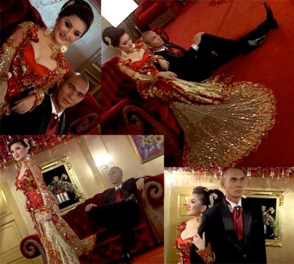 foto pre wedding pernikahan Kiki Amalia dan Markus
