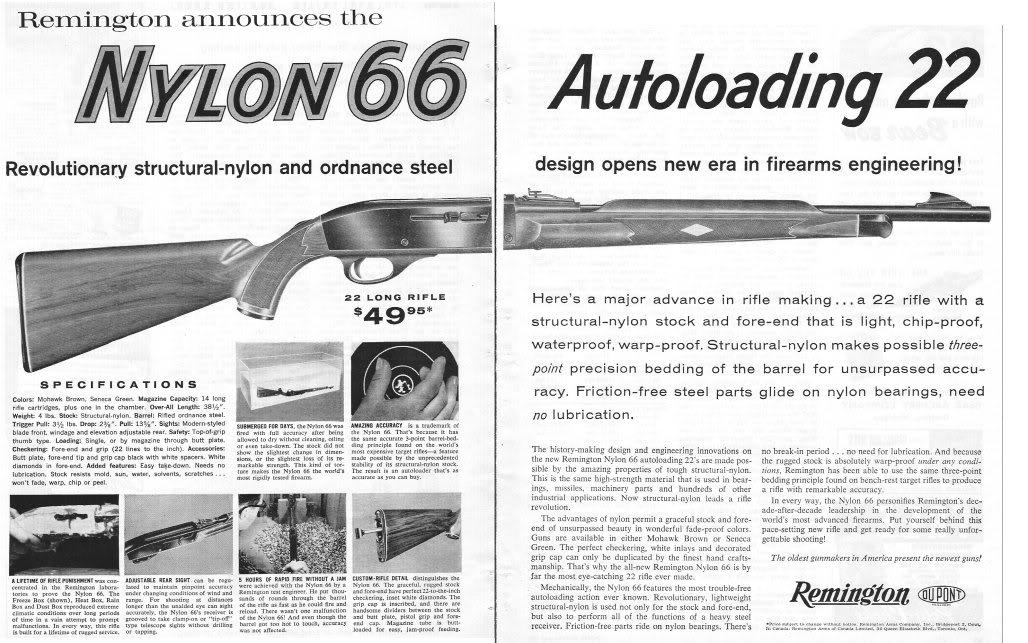 Remington Nylon 66 Owners Manual