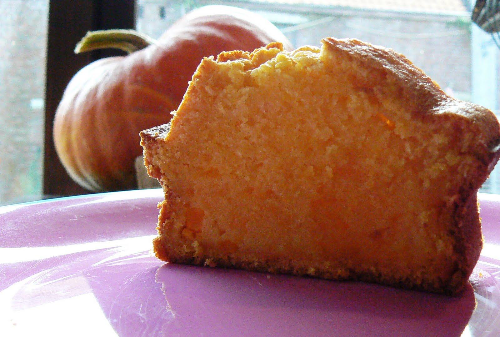 Cuisinecosmos cake au potiron et noisettes - Cake au potiron sucre ...