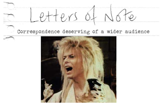 מכתב מדיוויד בואי