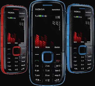 Nokia 5130 Xpress Music Colors