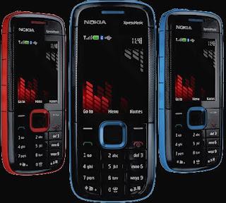 Nokia 5130 Xpress Music Colors
