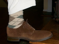 Wasp101 0135 Style Guide: Argyle Socks