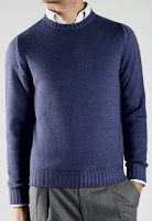 Zanone+Crewneck Style Guide: The Crewneck Sweater