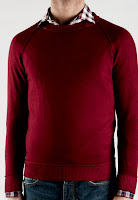 Zanone+Crewneck+Red+Merino Style Guide: The Crewneck Sweater
