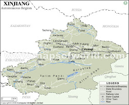 Drew's Province of Xinjiang