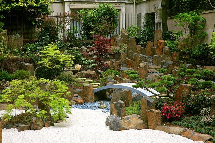 Daqui do meu quintal jardins japoneses - Jardines japoneses pequenos ...
