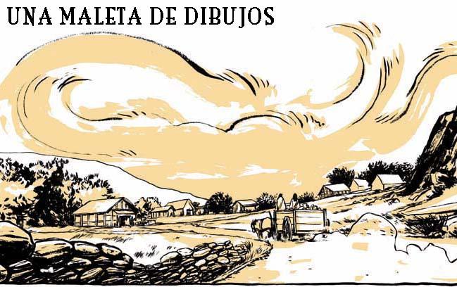 UNA MALETA DE DIBUJOS