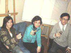Marcela, Mª Eugenia, Pedro