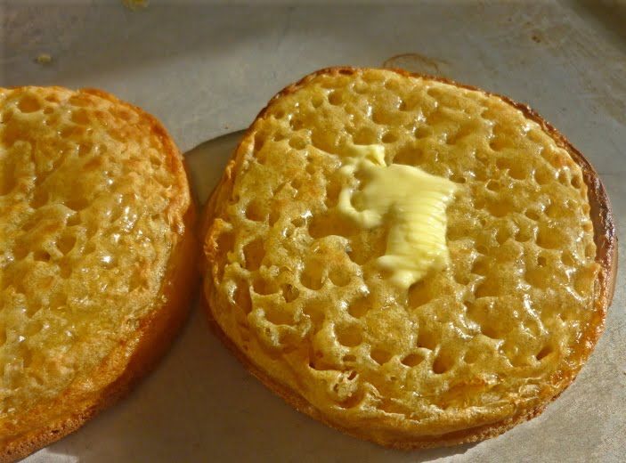 Can you help me perfect my crumpets please?