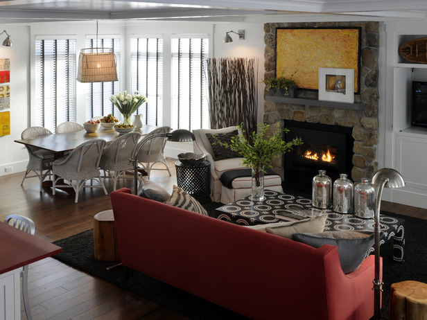 3 little miracles hgtv green home 2010 first floor - Casas americanas por dentro ...