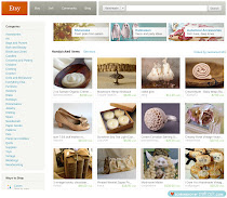Etsy front page created by me