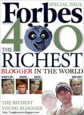 Blogger Muda Terkaya di Dunia