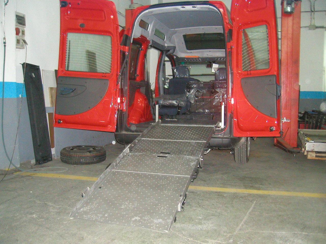 Rampas para furgonetas de segunda mano