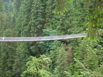 Capilano Bridge pontes assustadoras canada