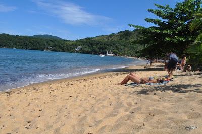 praia de palmas ilha grande rj rio de janeiro mar