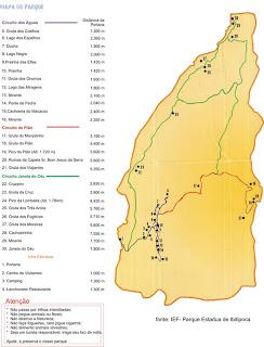 minas gerais mg ibitipoca cachoeiras  viajando sem frescura turismo  mapa parque