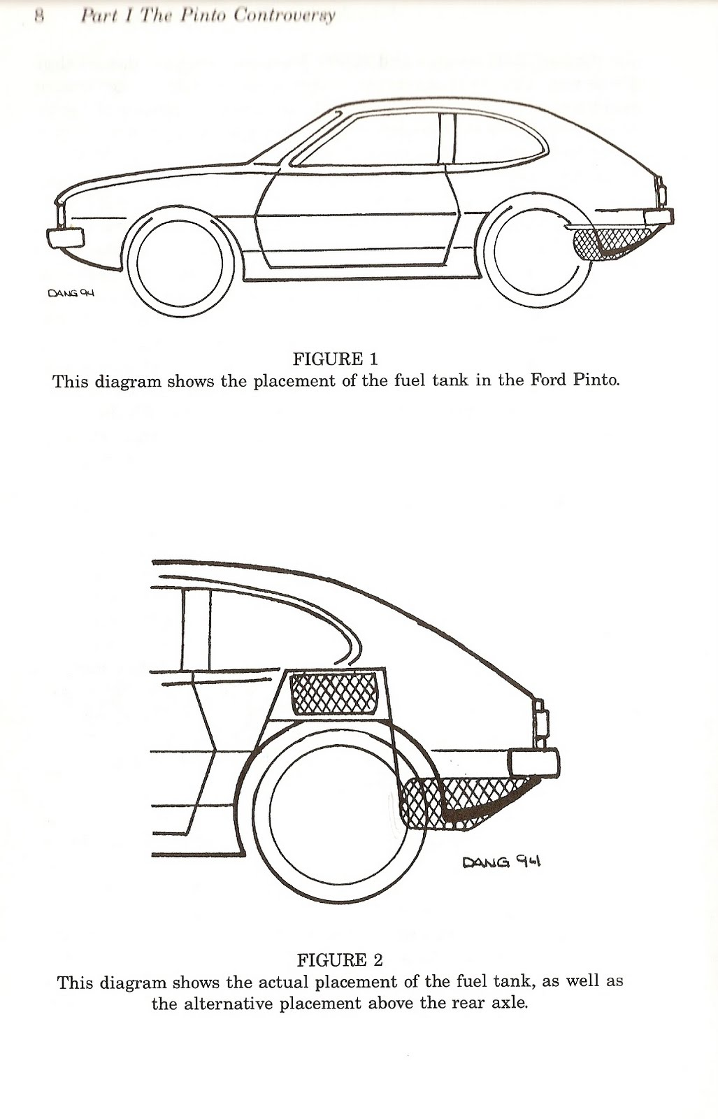 The case of the Ford Pinto?