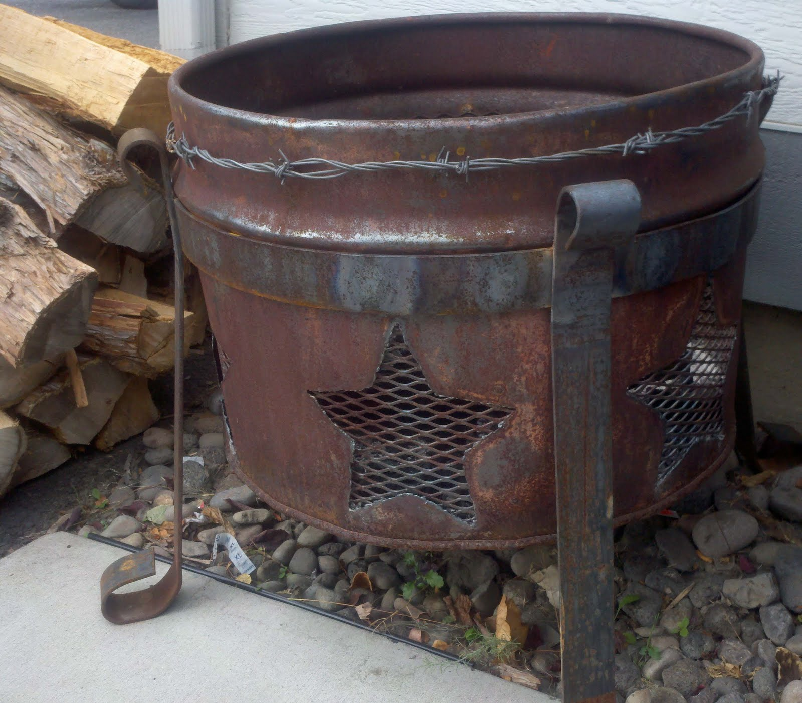 Do It Yourself Fire Pit : Do it yourself garage creations creating your own fire pit
